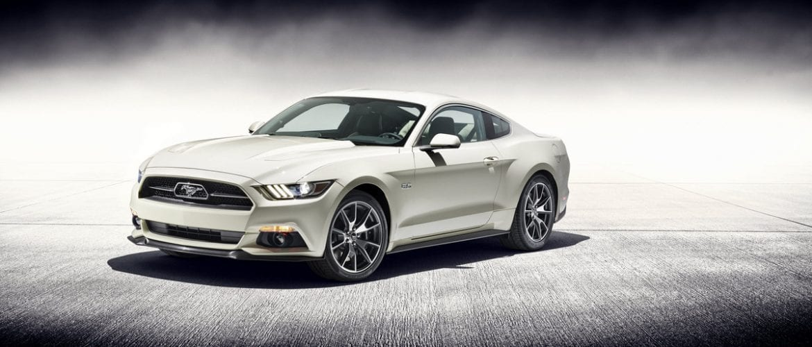 La Ford Mustang 50 Year Limited Edition 2015