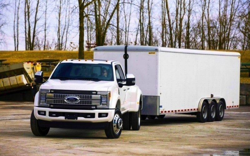 Le Ford Super Duty 2017 muni de sept caméras