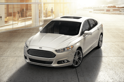 Ford Fusion, crédit photo : Ford Canada
